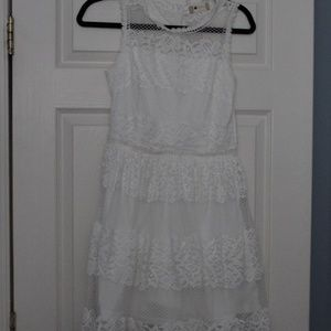 Alter'd State White Lace Dress NWT's Size Small
